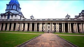 De Universiteit van Greenwich, Londen, Engeland stock videobeelden