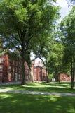 De universiteit van Harvard stock afbeeldingen