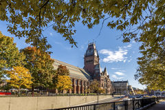 De Universiteit van Harvard Royalty-vrije Stock Foto's