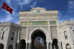 De universiteit van Istanboel, Turkije Stock Afbeeldingen