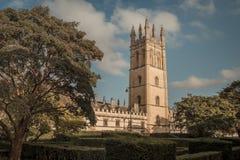 De Universiteit van Magdalen Royalty-vrije Stock Foto