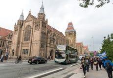 De universiteit van Manchester Stock Afbeelding