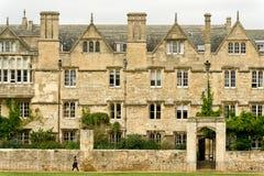 De universiteit van Merton, de universiteit van Oxford, Engeland Royalty-vrije Stock Afbeelding