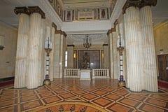 De Universiteit van Moskou binnen, Moskou royalty-vrije stock afbeelding