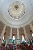 De Universiteit van Moskou binnen, Moskou stock afbeelding