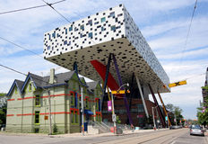 De Universiteit van Ontario van Kunst en Ontwerp Stock Afbeelding