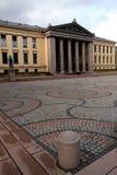 De Universiteit van Oslo stock fotografie