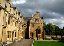 De Universiteit van Oxford Stock Afbeeldingen