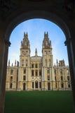 De Universiteit van Oxford Royalty-vrije Stock Afbeeldingen