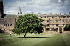 De Universiteit van Oxford stock foto
