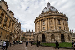 De Universiteit van Oxford royalty-vrije stock fotografie