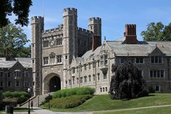 De Universiteit van Princeton Royalty-vrije Stock Afbeeldingen