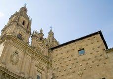 De Universiteit van Salamanca Stock Afbeeldingen