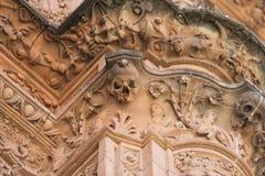 De Universiteit van Salamanca Stock Fotografie