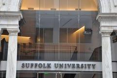 De Universiteit van Suffolk Stock Foto's