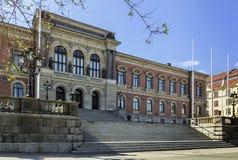De Universiteit van Uppsala Royalty-vrije Stock Afbeeldingen