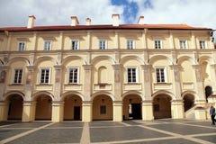 De Universiteit van Vilnius, Litouwen Stock Fotografie