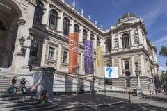 De Universiteit van Wenen Stock Afbeeldingen