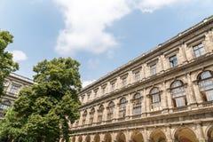 De Universiteit van Wenen (Universitat Wien) Stock Foto