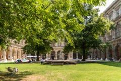De Universiteit van Wenen (Universitat Wien) Royalty-vrije Stock Afbeelding