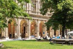 De Universiteit van Wenen (Universitat Wien) Royalty-vrije Stock Fotografie