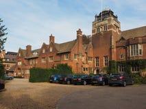 De Universiteit van Westminster in Cambridge stock foto