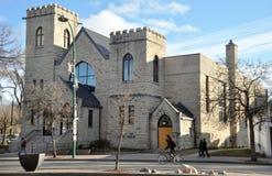 De Universiteit van Winnipeg Royalty-vrije Stock Afbeeldingen