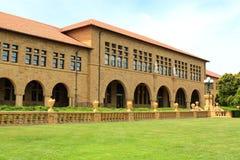 de universiteitsbouw Royalty-vrije Stock Foto's
