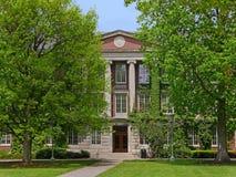 de universiteitsbouw Royalty-vrije Stock Afbeelding