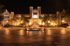 De Universiteitsfontein van de Staat van Florida Royalty-vrije Stock Afbeeldingen