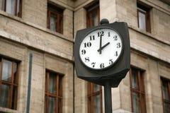 De uren van de stad Royalty-vrije Stock Afbeeldingen