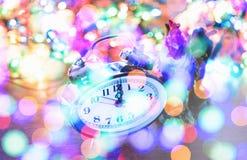 De uren van het nieuwjaarklatergoud Royalty-vrije Stock Fotografie