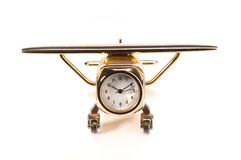 De uren van het vliegtuig Royalty-vrije Stock Afbeeldingen