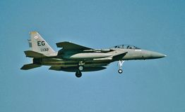 De USAF McDonnell Douglas F/A-15D 85-0132 Royalty-vrije Stock Fotografie