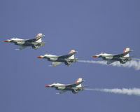 De USAF Thunderbirds Stock Afbeelding