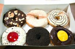 De utsmyckade donutsna Royaltyfria Foton