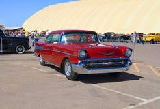 De V.S.: Klassieke auto - Chevrolet Bel Air (1957) Royalty-vrije Stock Afbeelding