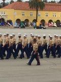 De V.S. Marine Corp Graduation royalty-vrije stock foto's