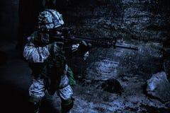 De V.S. Marine Soldier royalty-vrije stock foto
