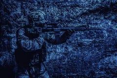De V.S. Marine Soldier royalty-vrije stock foto's
