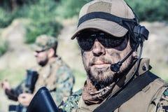 De V.S. Marine Soldier Royalty-vrije Stock Fotografie