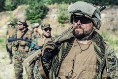 De V.S. Marine Soldier Stock Afbeelding