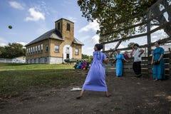 De V.S. - Ohio - Amish royalty-vrije stock fotografie