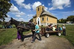 De V.S. - Ohio - Amish royalty-vrije stock foto's