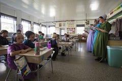 De V.S. - Ohio - Amish royalty-vrije stock afbeeldingen