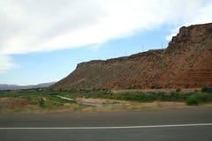 De V.S. Rode bergen Utah stock afbeelding
