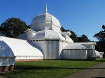 De V.S., San Francisco, Californië - Serre van Bloemen die bij Golden Gatepark bouwen royalty-vrije stock foto