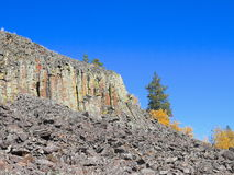 De V.S., Wyoming/Yellowstone: Sheepeaterklip Stock Fotografie