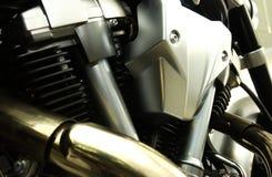 De v-tweeling Motor van het Type Stock Foto's