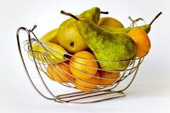 De vaas met fruit. Royalty-vrije Stock Foto's